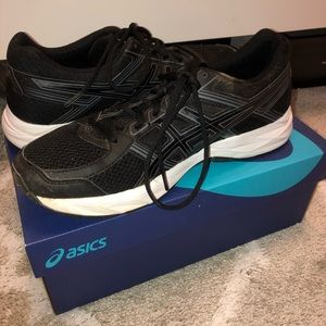 Black Women's Asic Shoes